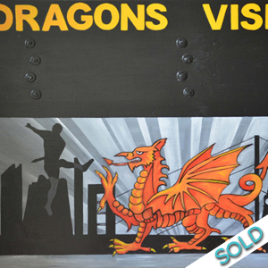 Dragons Scoreboard - SOLD