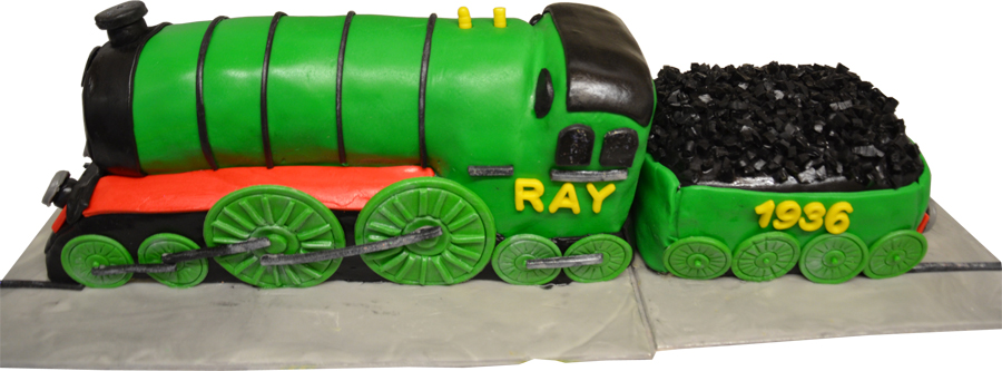 Cake - The Flying Scotsman